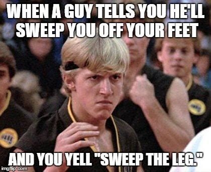 Karate Kid Meme - sweep the leg meme www pixshark com images galleries