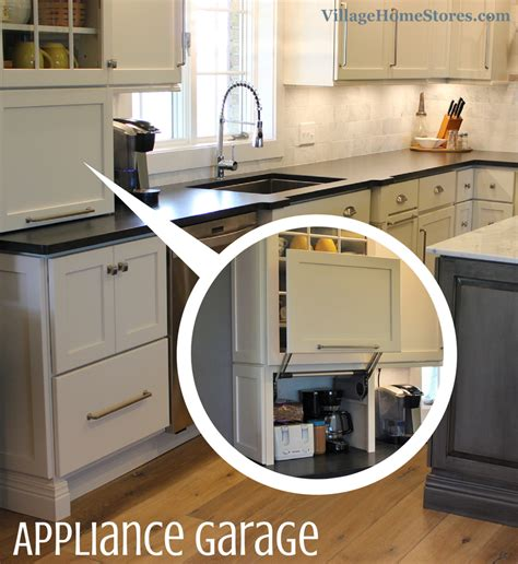 Cabinet Door Storage Ideas by Appliance Garage Village Home Stores