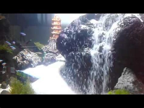 membuat air terjun aquascape youtube indahnya air terjun pasir aquascape youtube