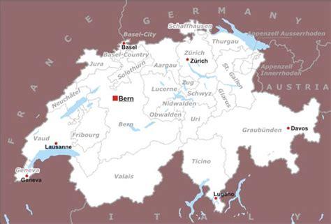 switzerland map in world map switzerland physical map