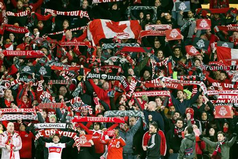 usa today sports section red bulletin toronto fc sell out away section at olympic