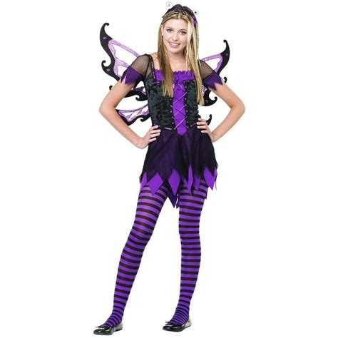 preteen angel costume amethyst fairy costume teen junior tween dark gothic