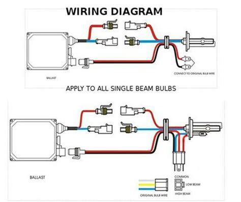 xentec hid kit wiring diagram xentec 9007 hid dual