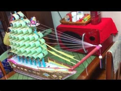 3d origami ship tutorial 3d origami boat by mr park jaxster youtube