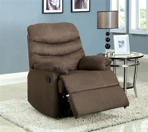 Brown Suede Recliner by Light Brown Suede Recliner