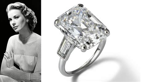 princess grace engagement ring