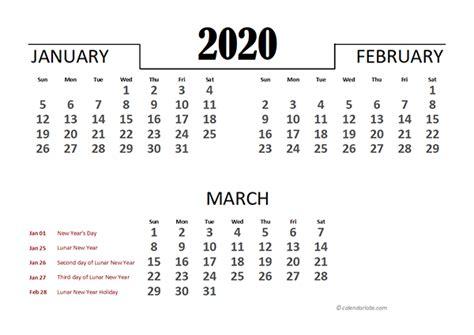 hong kong excel quarterly calendar  printable