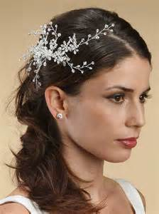wedding swarovski comb bridal