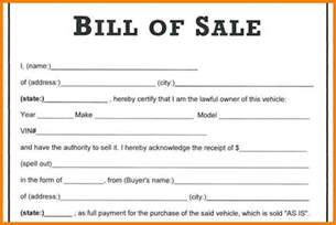 Bill Of Sale Automobile Template by 8 Automobile Bill Of Sale Template Word Land Scaping Flyers