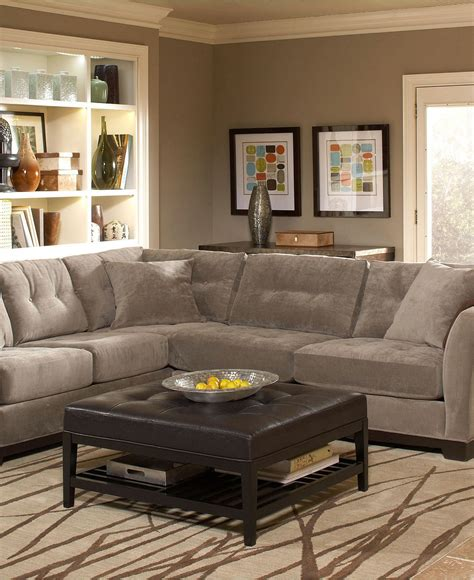 Macys Sectional by Closeout Elliot Fabric Sectional Collection Created For