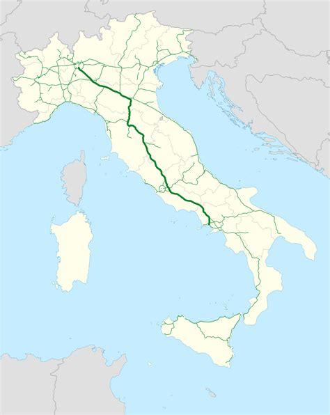 di italia autostrada a1 italy