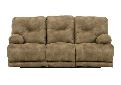 lay flat recliner sofa voyager brandy lay flat triple reclining sofa lexington