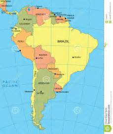map south america map of south america free large images