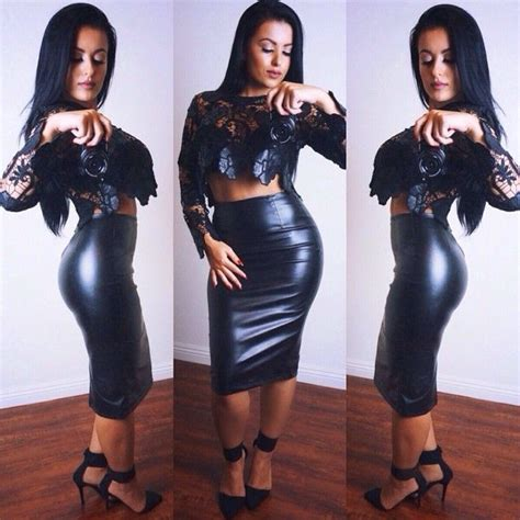 Ak Jelita Black 1000 ideas about leather skirt on