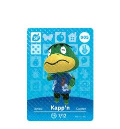 Nintendo Amiibo Figures Kapp N Animal Crossing Series animal crossing cards series 1 amiibo the