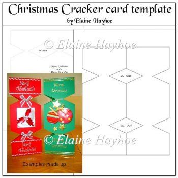 Cracker Card Template Free by It S A Cracker Card Template 163 0 80 Instant Card