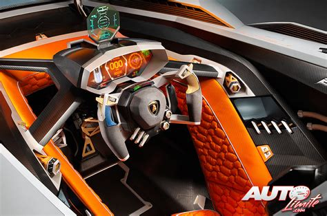 Lamborghini Egoista Cockpit Interior Of The New Lamborghini Egoista Looks Pretty