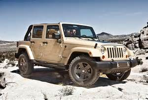 Limited Edition Jeep Wrangler 2011 Jeep Wrangler Mojave Limited Edition
