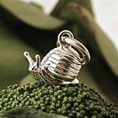 snail charm everley jewellers