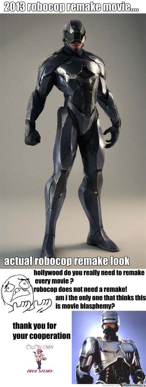 Robocop Meme - robocop remake by recyclebin meme center
