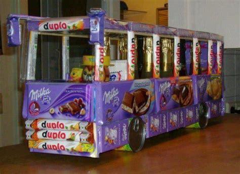 Nosh Stelan Busui auto aus s 252 223 igkeiten basteln geschenk schokolade