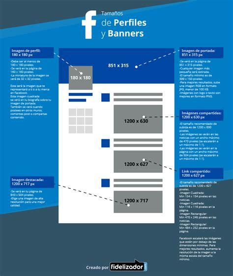 formato imagenes web banner gu 237 a de tama 241 os para redes sociales y web blog