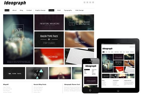 themes wordpress minimal ideograph responsive wordpress theme wordpress minimal