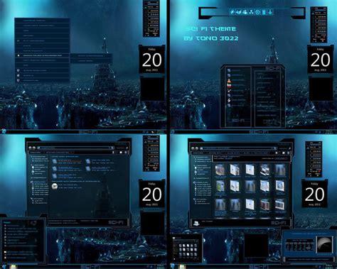 new themes windows 7 new windows 7 theme sci fi by newthemes on deviantart