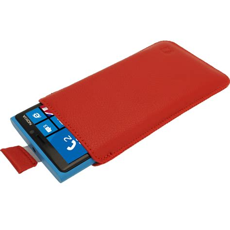 nokia windows phone cover igadgitz leather pouch cover for nokia lumia 920