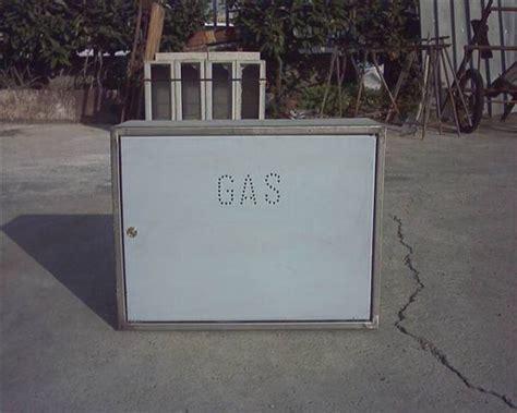 cassetta gas metano cassette cemento contatori metano