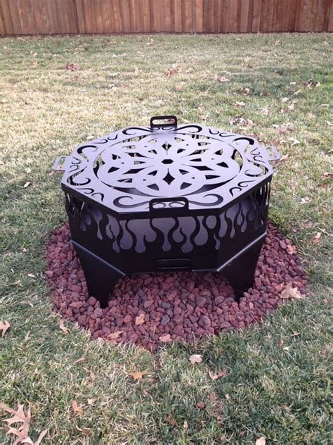 firepit rings pit ring pit rings p u0026 d metal works