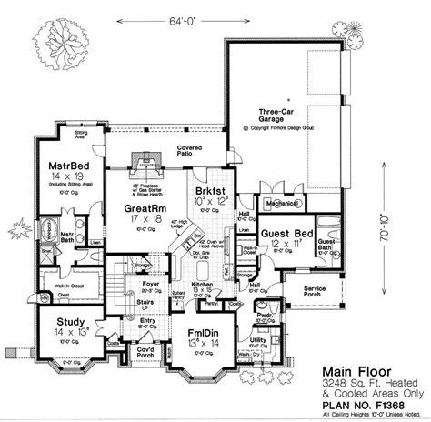 fillmore floor plans fillmore design group house plan marvelous main floor