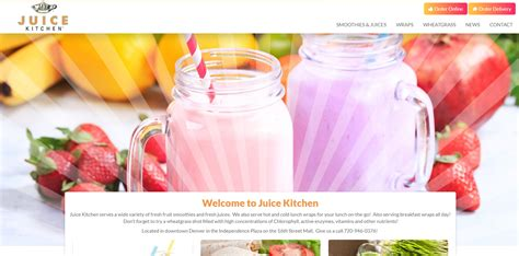 The Juice Kitchen by New Website Upgrade Juice Kitchen