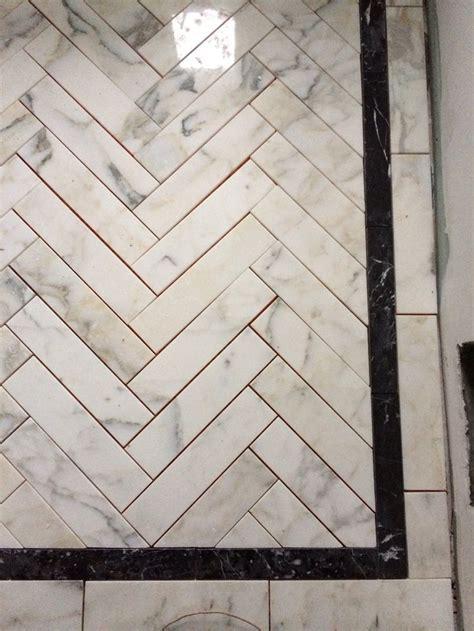 herringbone bathroom floor tile marble herringbone shower floor incredible tile