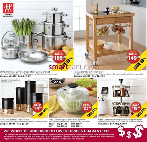 kitchen stuff kitchen stuff plus flyer oct 18 to 28
