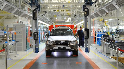volvo confirms  production  chinese plant