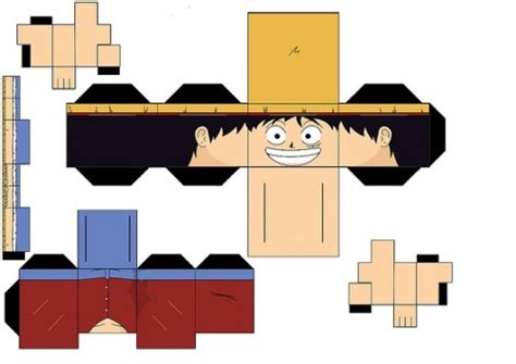One Papercraft - one luffy papercraft by bubbleinstead on deviantart