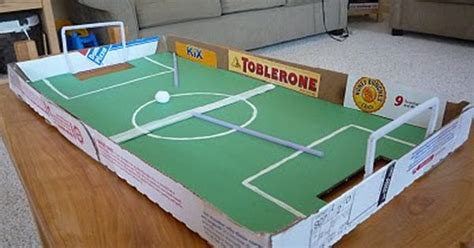 amazing uses for pizza boxes soccer made out of pizza boxes use straws to