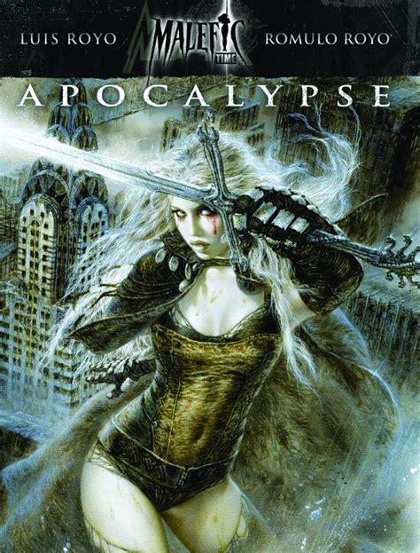 luis royo conceptions volume 1932413049 previewsworld malefic time apocalypse hc vol 01 feb158092