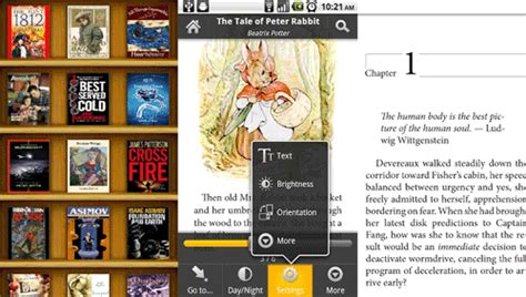 mobi ebook reader for android apps to read mobi html chm doc epub pdf ebooks on android techzilo