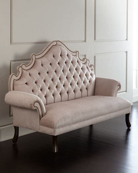 tufted banquette haute house william dining chair daniella tufted