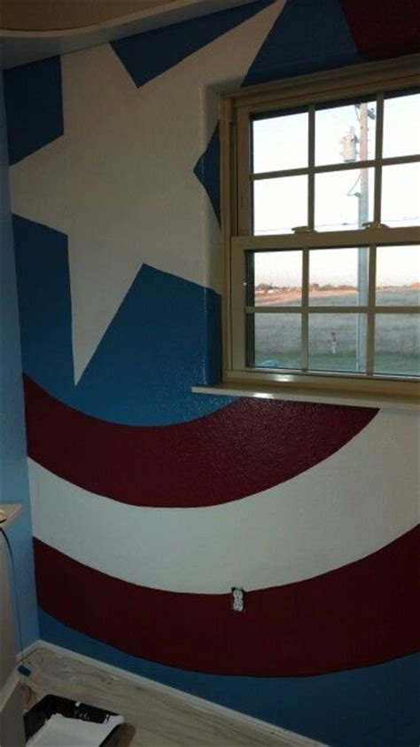captain america bedroom ideas captain america america and bedrooms on pinterest