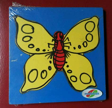 Alat Pijat Elektrik Kupu Kupu alat peraga edukasi puzzle metamorfosa kupu kupu