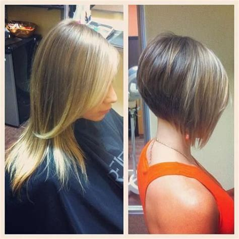 short angled bob beautiful long long to cute angled bob my long to short styles