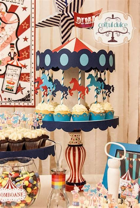 Sweet Cornerdessert Table 21 circus theme bar coltul dulce bar dessert