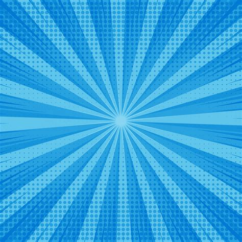 abstract blue comic background  dotted design