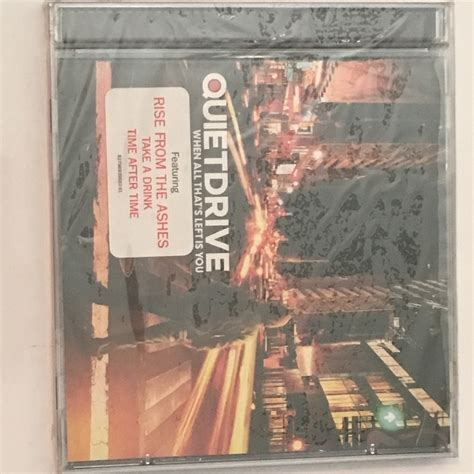 Cd Quietdrive When All That S Left Is You Sealed Cd Quietdrive When All That S Left Is You Sony Bmg