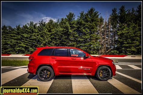 supercharged jeep grand grand trackhawk la plus puissante jeep jamais