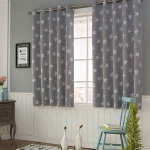 Patterned Blackout Curtains Patterned Children S Blackout Eyelet Curtains