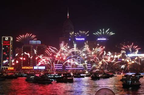 new year in hong kong hong kong new years fireworks 2018 best places to